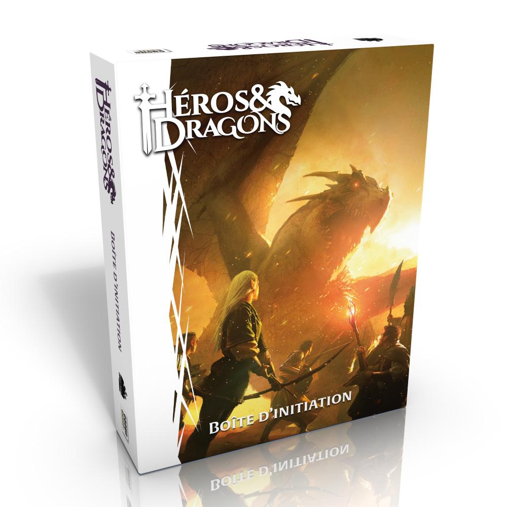 La boîte d'initiation de Héros & Dragons