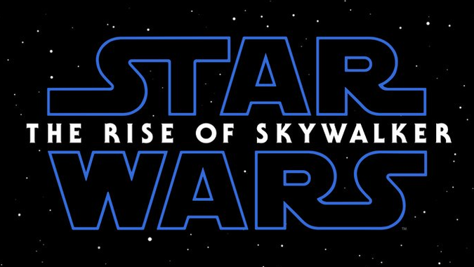 Star Wars IX the rise of skywalker le logo